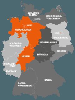 pebb zwei Niedersachsen Hessen